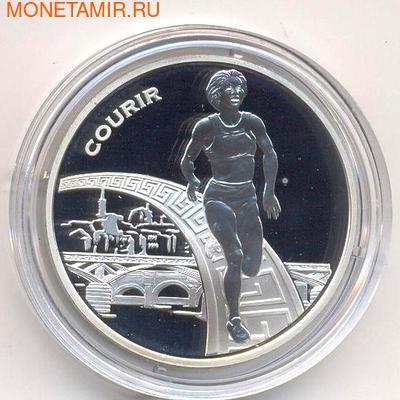 Франция 1 1/2 евро 2003. Бег (фото)