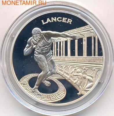 Франция 1 1/2 евро 2003. Метание ядра. (фото)