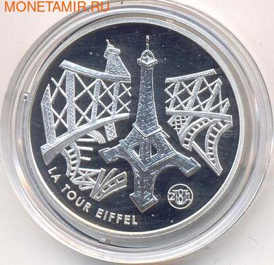Франция 10 франков 2001. Эйфелева башня (фото)