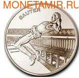 Франция 1 1/2 евро 2003. Прыжки в высоту. (фото)