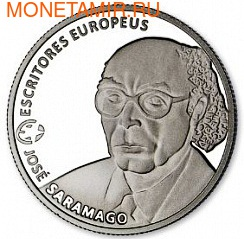 Португалия 2,5 евро 2013.Хосэ Сарамаго.Арт.60 (фото)