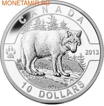Канада 10 долларов 2013. Волк.Арт.0001123644154 (фото)