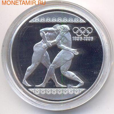 Греция 1000 драхм 1996. Олимпийские игры. Борцы.