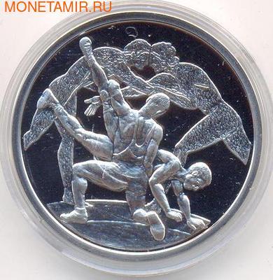 Греция 10 евро 2004. Олимпиада - Афины 2004. Борьба (фото)