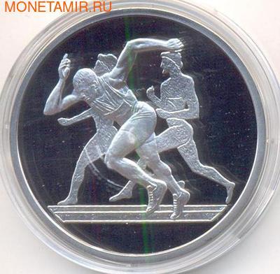 Греция 10 евро 2004. Олимпиада - Афины 2004. Бег (фото)