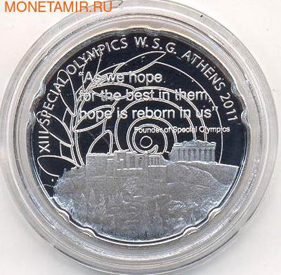Греция 10 евро 2011. Паралимпийские игры. Парфенон (фото)