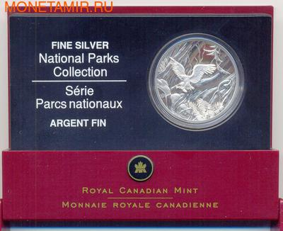 """Канада 20 долларов 2005. Коллекция """"Национальные парки"""" Орел (фото)"""