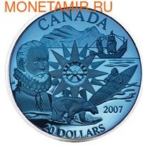 Канада 20 долларов 2007. Международный полярный год. (фото)