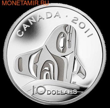 Канада 10 долларов 2011. Касатка (фото)