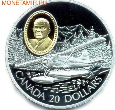 Канада 20 доларв 1991. Хавилэнд Байер. Авиация