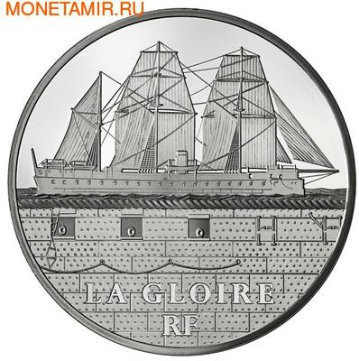 """Франция 50 евро 2013. Броненосец """"Глуар"""" (фото)"""