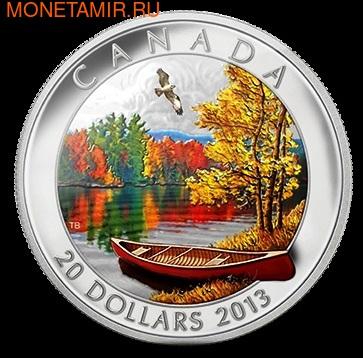 Канада 20 долларов 2013. Осеннее блаженство. (фото)