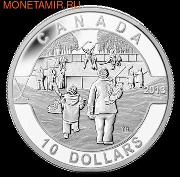 Канада 10 долларов 2013. Хоккей.Арт.000114744782 (фото)