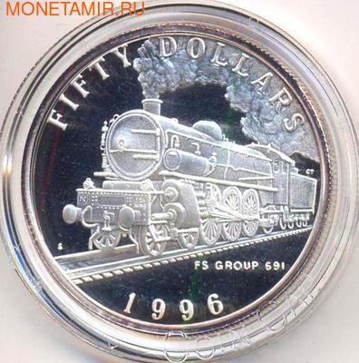 Маршалловы острова 50 долларов 1996. Поезд FS Group 691 (фото)
