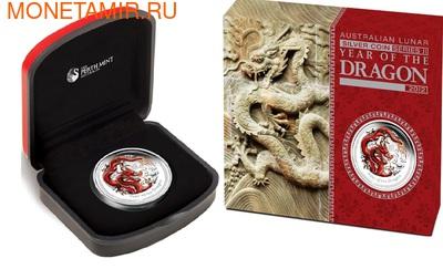 Австралия 1 доллар 2012. Год Дракона.
