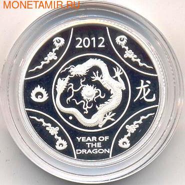 Австралия 1 доллар 2012. Год Дракона. (фото)