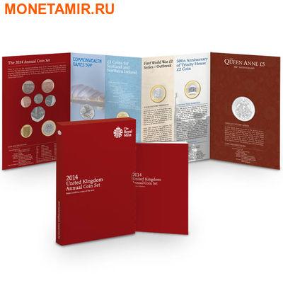 Великобритания Полный Годовой Набор 2014 (The 2014 UK Brilliant Uncirculated Annual Coin Set).Арт.60