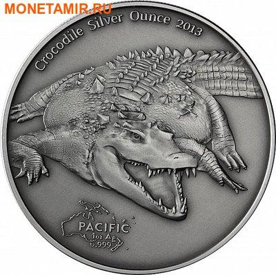 Токелау 5 долларов 2013. «Крокодил».Арт.000252346958