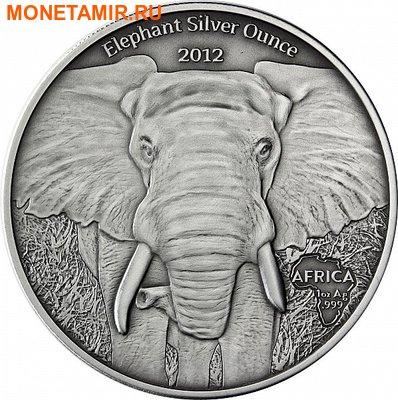 Габон 1000 франков 2012. «Слон».Арт.000345246960 (фото)