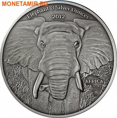 Габон 2000 франков 2012. «Слон».Арт.000345246963 (фото)