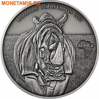 Конго Республика 2000 франков 2013.Носорог.Арт.001020446965/60