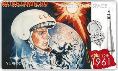 Ниуэ 2 доллара 2011.Юрий Гагарин – Покорение Космоса.Арт.000281346431/60 (фото)