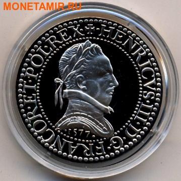 Франция 10 франков 2000. «Франк Генриха III» серия «2000 лет Французским монетам».Арт.000400047548
