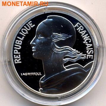 Франция 10 франков 2000. «Марианна пятой республики 1962» серия «2000 лет Французским монетам».Арт.000400047552 (фото)