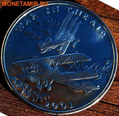 Либерия 5 долларов 2001. «Самолеты – Война в воздухе, Первая мировая война».Арт.000035547500 (фото)