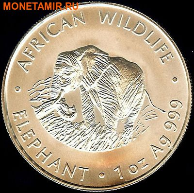 Замбия 4000 квач 1998. «Слон» серия «Дикая Африка».Арт.000105947492 (фото)