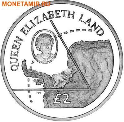 Британские Антарктические Территории 2 фунта 2013. «Земля Королевы Елизаветы».Арт.000179043611 (фото)