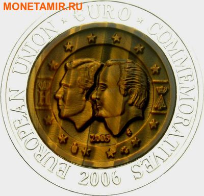 Корея 700 вон 2006. Памятные монеты Евросоюза – Бельгия - Бельгийско-Люксембургский экономический союз.Арт.000370547822 (фото)