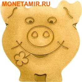 Палау 1 доллар 2014.Свинья – символ удачи (Lucky Pig).Арт.000195148703 (фото)