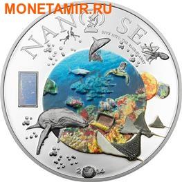 Острова Кука 10 долларов 2014.Нанотехнологии – 2014.Море.Арт.000100048297 (фото)