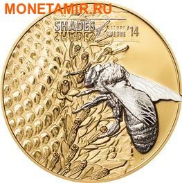 Острова Кука 5 долларов 2014.Пчела.Арт.000253248421/60 (фото)