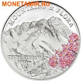 Палау 5 долларов 2013. Горы и Флора – Нанга Парбат.Арт.000189948624 (фото)