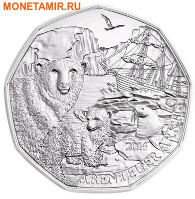 Австрия 5 евро 2014.Белый медведь – Очаровательная Арктика.Арт.000068648197/60 (фото)