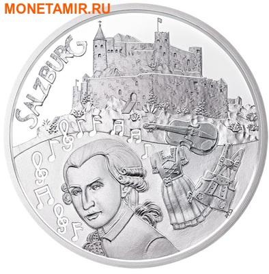 Австрия 10 евро 2014.Зальцбург – Моцарт(буклет).Арт.0001292488199 (фото)