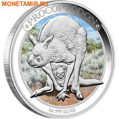 Австралия 1 доллар 2013.Кенгуру - Прокоптодон серия «Мегафауна».Арт.000233945632