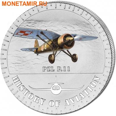 Бурунди 5000 франков 2014.Самолет - «PZL P.11» серия «История авиации».Арт.000147647935 (фото)