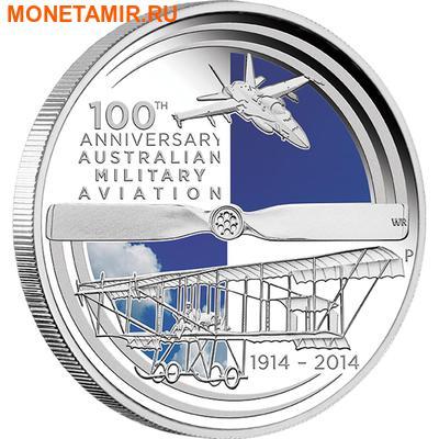 Австралия 1 доллар 2014.Самолет – 100 лет Австралийской военной авиации.Арт.000251148136 (фото)