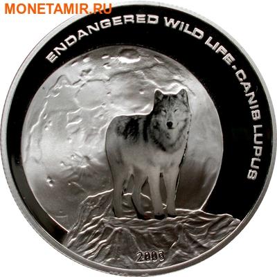 Монголия 500 тугриков 2003.Волк - Луна.Арт.000226050680/60 (фото)