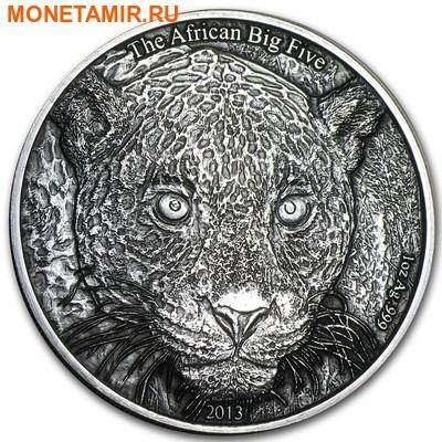 Камерун 1000 франков 2013.Леопард – Большая Африканская Пятерка.Арт.60 (фото)