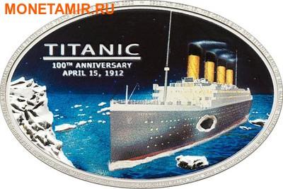 Острова Кука 5 долларов 2012.Корабль – Титаник.100 лет гибели.Арт.000268236347 (фото)