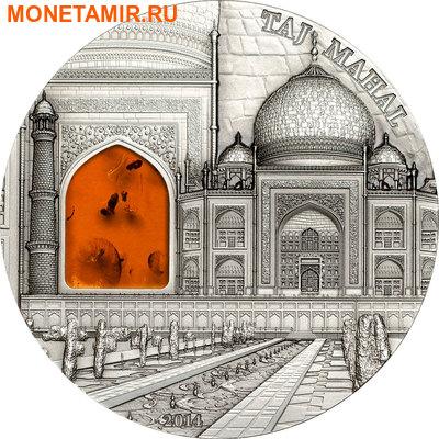Палау 10 долларов 2014.Тадж-Махал серия Минералогическое искусство.Арт.000300049131/290Е (фото)
