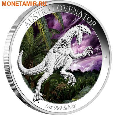 Австралия 1 доллар 2014.Динозавр – Австраловинатор серия Австралийская эпоха динозавров.Арт.000100049216