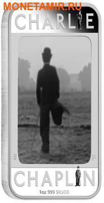 Тувалу 1 доллар 2014.Чарли Чаплин – 100-лет смеха.Арт.000173649140/60 (фото)