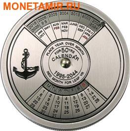 Конго 10 франков 2005.Морской календарь на 50 лет. (фото)