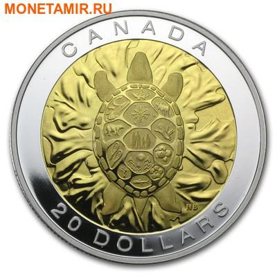 Канада 20 долларов 2014.Священных Учений - Истина-Черепаха.Арт.000490450367/60 (фото)