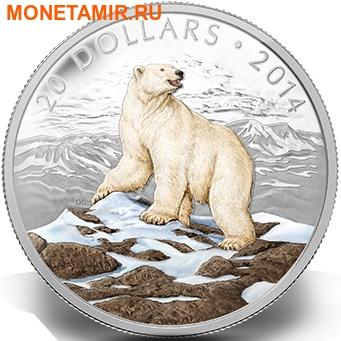Канада 20 долларов 2014.Белый Медведь.Арт.000312945944/60 (фото)